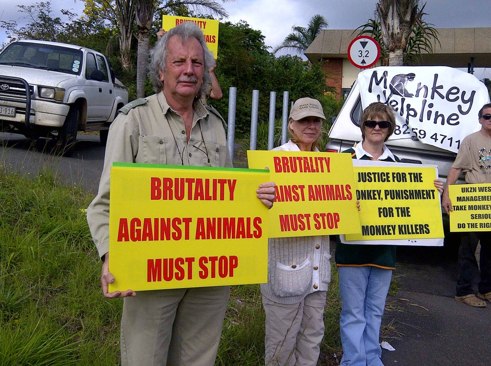 Standing against animal abuse